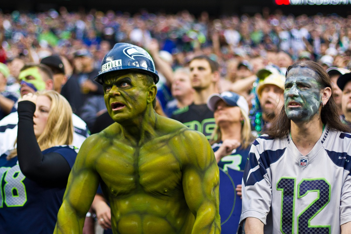 save off 44aca 06bee KUOW - Seahawks say boy bye to 12th Man but not because of ...