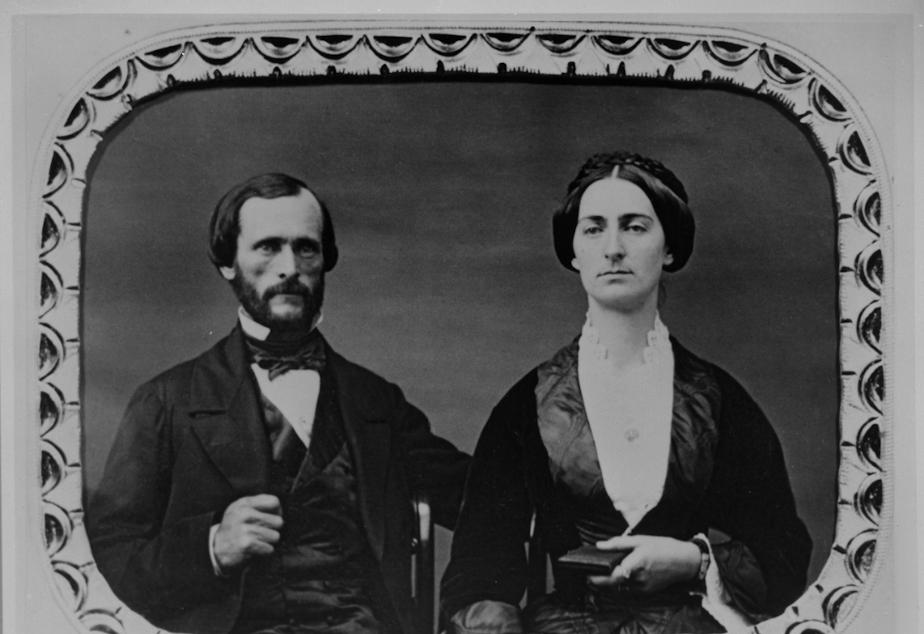 caption: John and Jessie Fremont