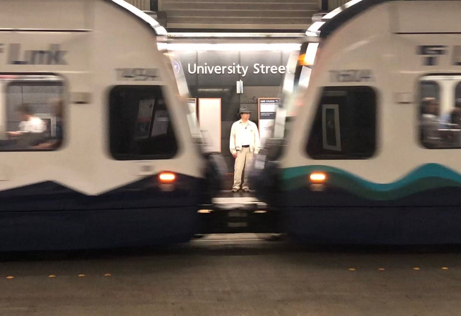 caption: University Street Station will have a new name by January, 2020, according to Sound Transit.