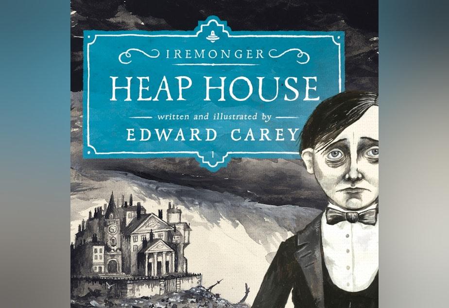 "caption: Edward Carey's ""Heap House."""