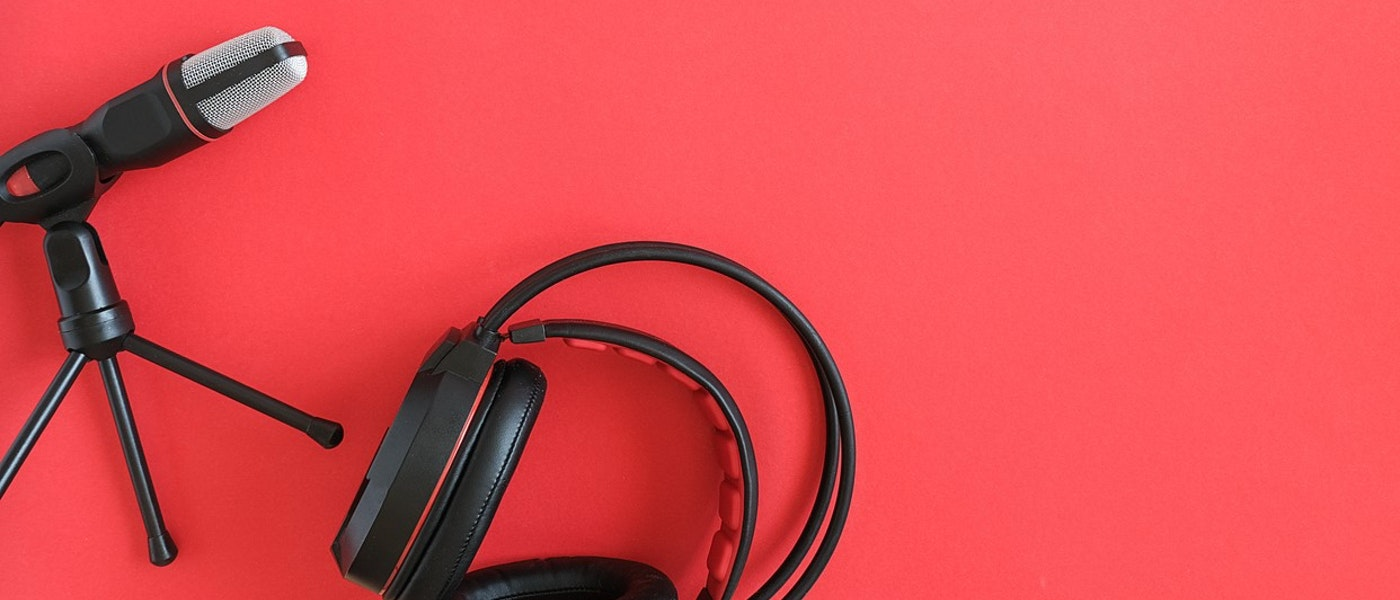 Stock Photo - Podcast Equipment