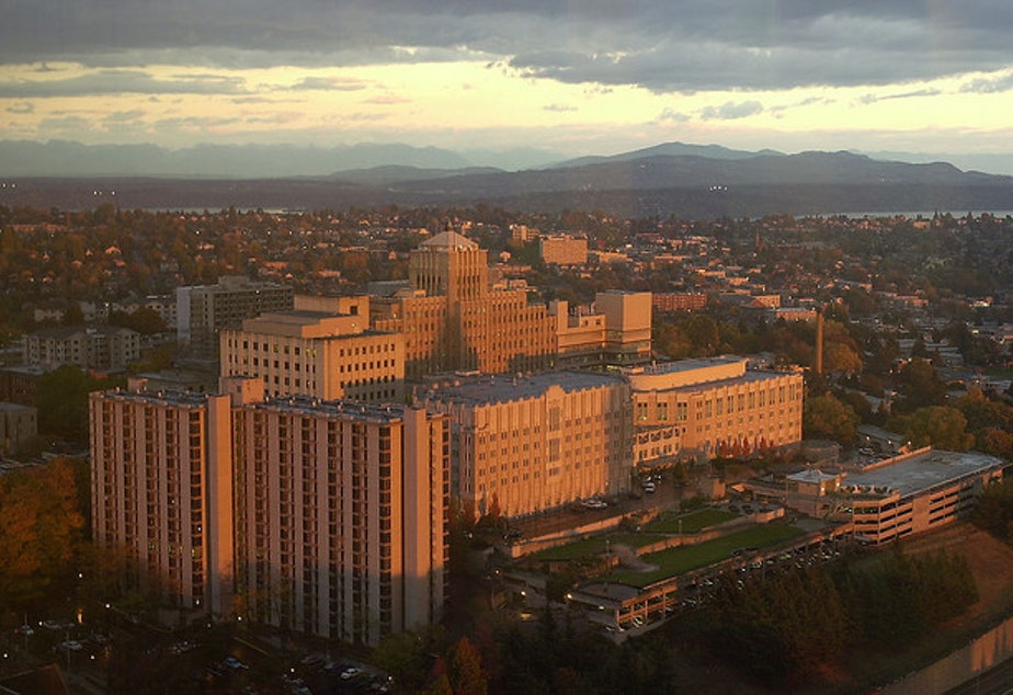 Harborview Hospital, Seattle, 2002
