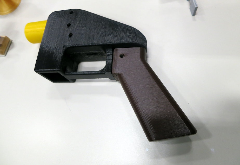 The 3D-printed gun, the liberator