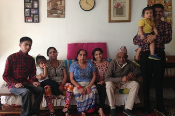 The Pokhrel family moved to the U.S. from Bhutan.