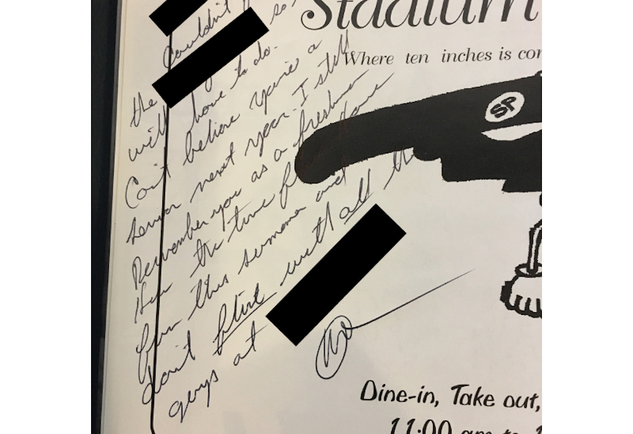 "Manweller's former student says Manweller wrote this message in her junior yearbook telling her not to flirt with ""all the guys"" at the store she worked part-time."