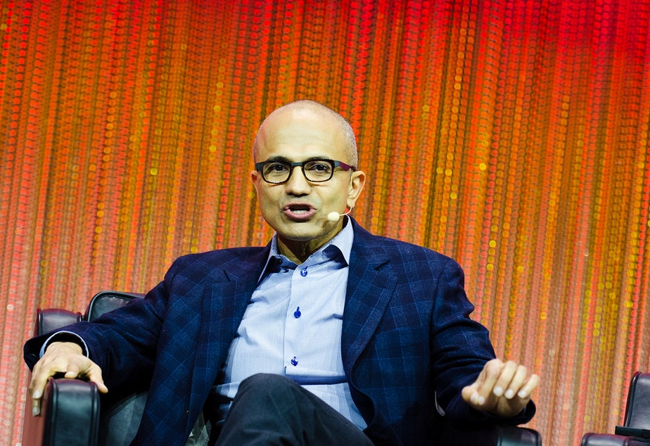 FILE: Satya Nadella in 2013