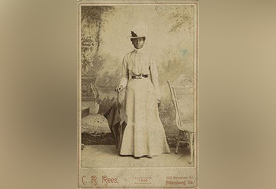 caption: A subject of 'Covert Acts' is Mary Elizabeth Bowser, who risked her life to pose as a slave in Jefferson Davis's home and provided intelligence to the Union Army.