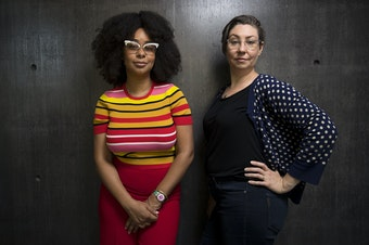 Eula Scott Bynoe and Jeannie Yandel are co-hosts of Battle Tactics For Your Sexist Workplace, a new podcast from KUOW Public Radio in Seattle.
