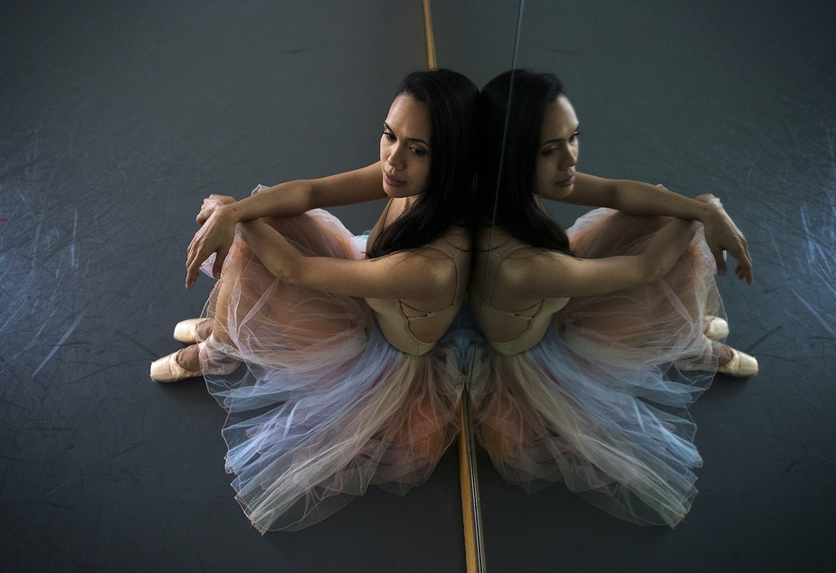 caption: Noelani Pantastico poses for a portrait on Thursday, May 23, 2019, at the Phelps Center in Seattle.