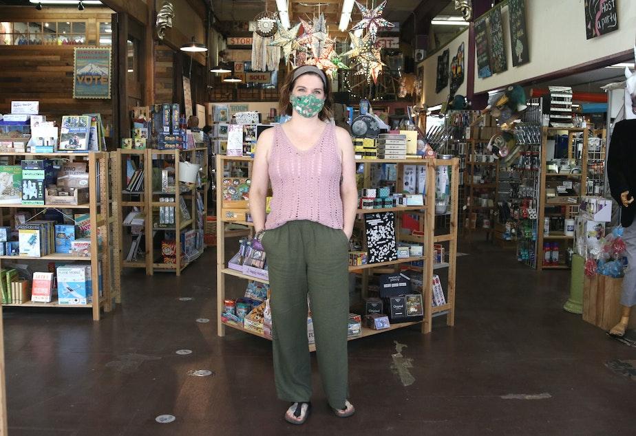caption: Summer Houlihan owns Tri-Dee Arts in Mount Vernon