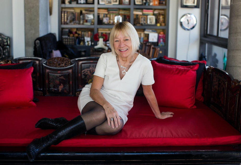 caption: Cindy Gallop, founder and CEO of Make Love Not Porn