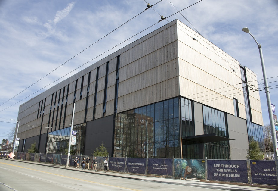 The new Burke Museum of Natural History and Culture opens to the public fall, 2019