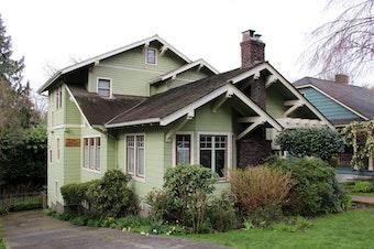 A classic Craftsman in Seattle's Mount Baker neighborhood.