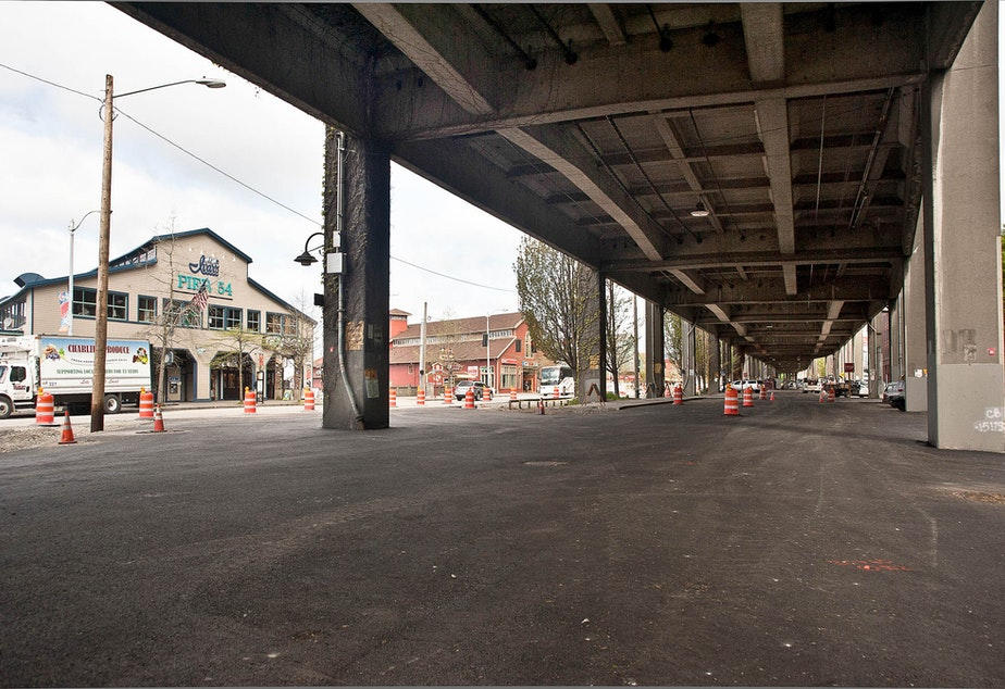 Engineers told state legislatures in 1995 that the Alaskan Way Viaduct would crumble in a major quake. The project to replace the Viaduct is underway but still incomplete.