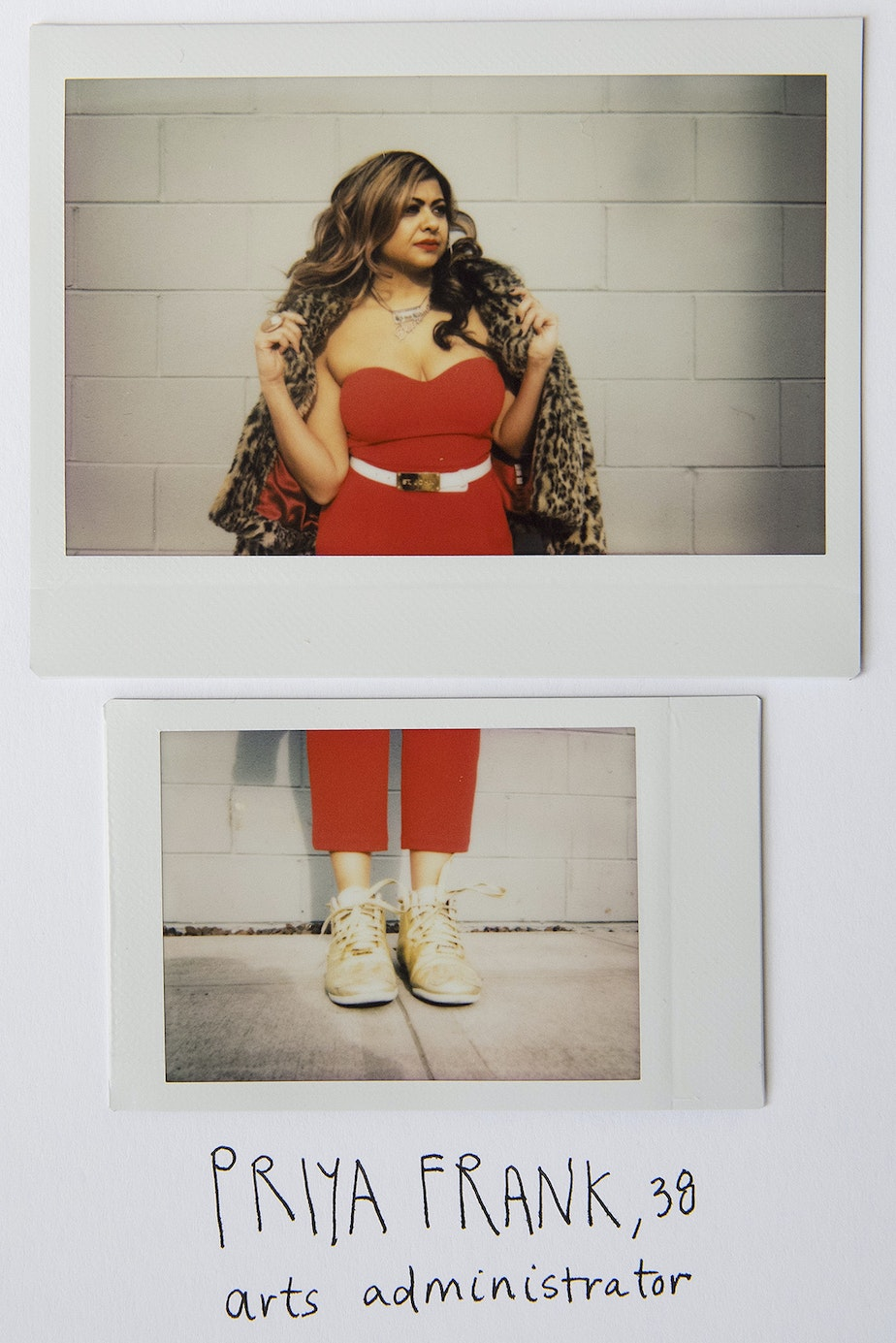 Priya Frank poses for a portrait on February 8th, 2019, in Seattle.