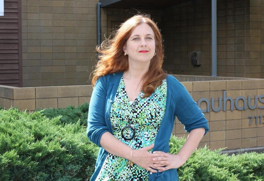 caption: Seattle City Councilmember Lisa Herbold