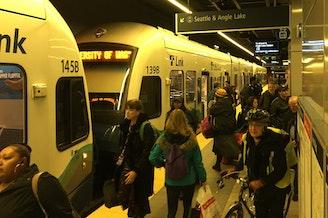 Sound Transit's University of Washington light rail station