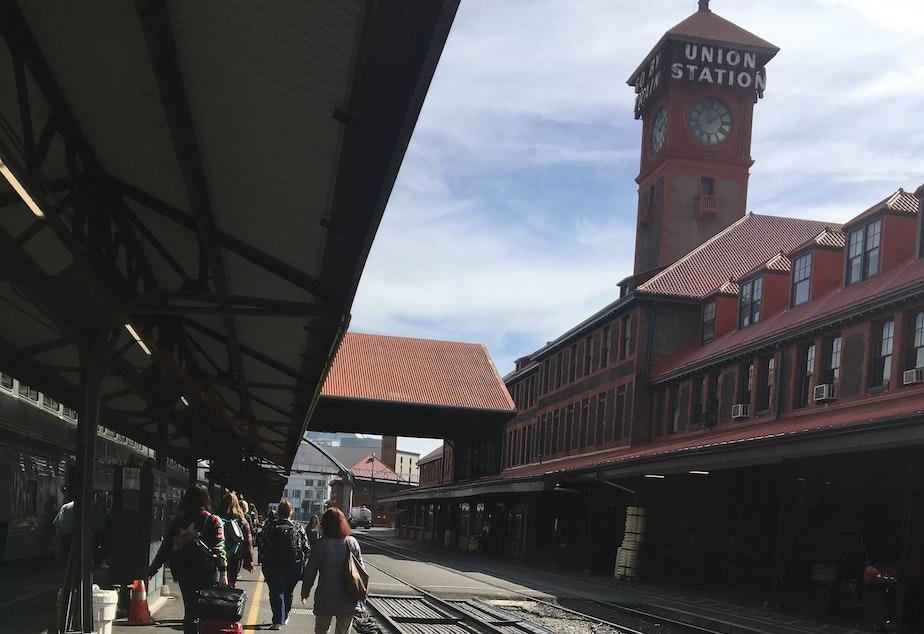 caption: Portland's Union Station